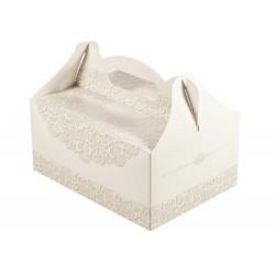Pudełko na ciasto - ślub