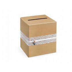 Pudełko na telegramy w stylu rustykalnym