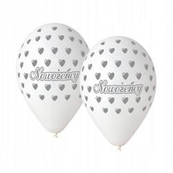 Balony nowożeńcy 5szt