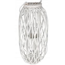 Lampion wiklinowy biały 52 cm