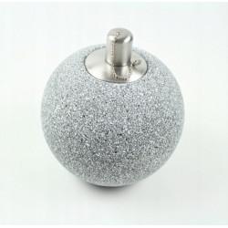 Lampion Ceramiczny Kula na Olej 13cm - Szary