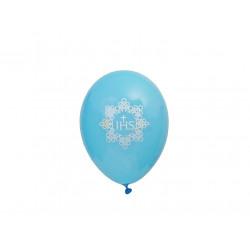 Niebieskie balony IHS