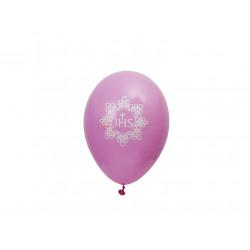 Różowe balony IHS 50 szt
