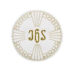 Emblemat Komunijny IHS Haft 7cm