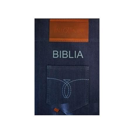 Biblia Oazowa w Jeansowej oprawie