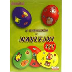 Barwniki do Jaj - 5 Kolorów oraz Naklejki