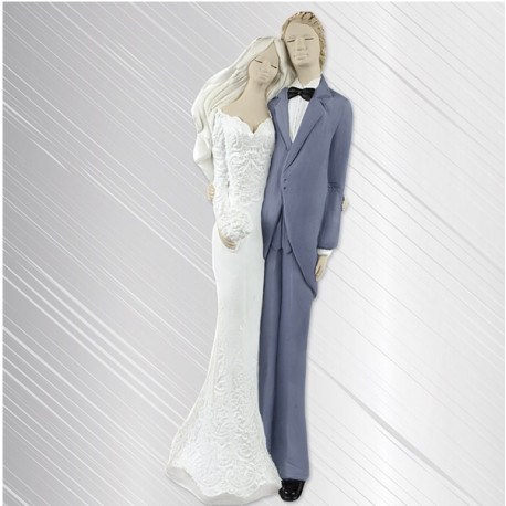 Anioł Para Ślubna 39cm